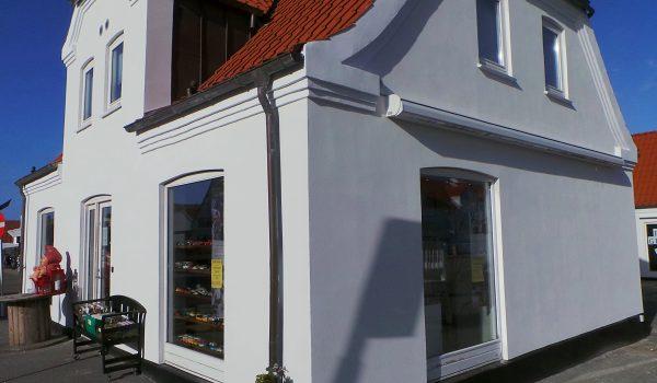 Butiksfacade i Blokhus